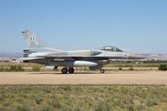 Grecki siły powietrzne F-16 Fotografia Royalty Free