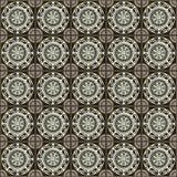 Grecki tradycyjny mozaiki ściany wystrój Zdjęcia Stock