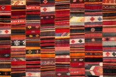 Grecki tradycyjny patchwork Zdjęcia Royalty Free