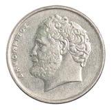Greckie drachmy monet Obraz Stock