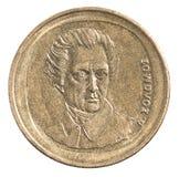 Greckie drachmy monet Zdjęcie Stock