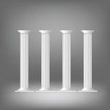 greckie kolumny ilustracja wektor