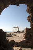 Greckie Ruiny Fotografia Royalty Free