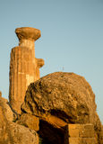 Greckie ruiny Obraz Royalty Free