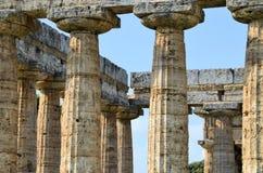 greckie stare kolumny Fotografia Royalty Free