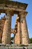 greckie stare kolumny Zdjęcia Stock