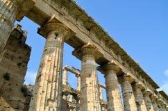 greckie stare kolumny Zdjęcie Stock