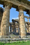 greckie stare kolumny Obraz Stock