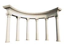 greckie stare kolumny Obrazy Royalty Free