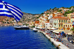 Greckie wyspy - Symi zdjęcie stock
