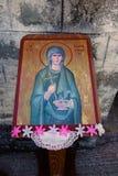 Greckokatolicka ikona Na zewnątrz kościół Zdjęcie Royalty Free
