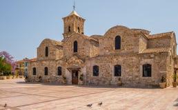 Greckokatolicki kościół święty Lazarus, Larnaka, Cypr obrazy royalty free