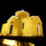 Greckokatolicki kościół Protaras Cypr Zdjęcie Royalty Free
