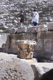 Greco-римский амфитеатр, Myra, Турция стоковые фото