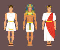 Greco antico, egiziano e romano Illustrazione di vettore Immagine Stock Libera da Diritti