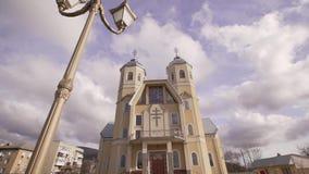 Greco katolsk kyrka stock video