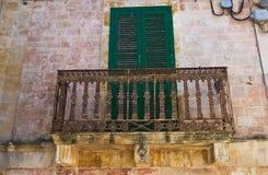 Greco palace. Ceglie Messapica. Puglia. Italy. Stock Photo