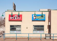 Greco Pizza Outlet Stock Photos