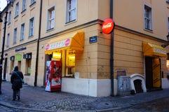 Greco restaurant Royalty Free Stock Photo