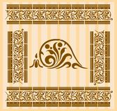 Greco-Roman Patterns Stock Images