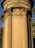 Greco-Roman pillar structure Royalty Free Stock Photo