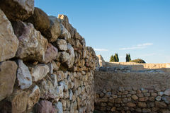 Greco roman ruins of Emporda Royalty Free Stock Photography