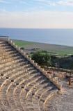Greco - Roman Theatre, Chipre imagem de stock royalty free