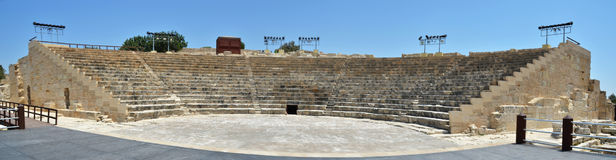Greco-Roman theatre. Cyprus Royalty Free Stock Images
