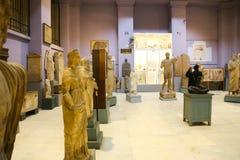 Greco-romare Hall på det egyptiska museet Royaltyfria Bilder