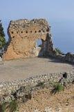greco taormina teatro fotografia royalty free