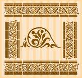 grecoen mönsan roman vektor illustrationer