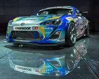 GReddy Racing Scion FR-S Royalty Free Stock Photography