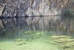 Gredos河 免版税图库摄影