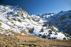Gredos great valley Royalty Free Stock Photos