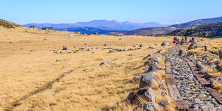 Gredos Mountain in Spain Stock Image