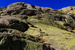 Gredos Mountain in Spain Royalty Free Stock Image