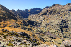 Gredos Mountain in Spain Royalty Free Stock Images