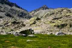 Gredos mountains in avila spain Stock Images