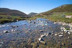 Gredos mountains river Stock Photo