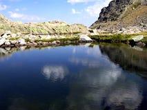 Gredos`s mountain range royalty free stock photography