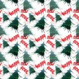 Gree brillante artístico hermoso abstracto del invierno del día de fiesta de la Navidad Foto de archivo libre de regalías