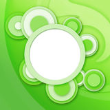 Gree circulaire abstrait d'hublots Image stock