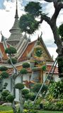 Gree guardian giant at Wat Arun Temple of dawn Stock Photography