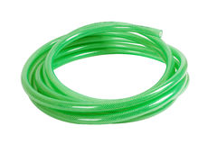 Gree plastic hose Stock Photography