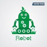 Gree robot leaf Royalty Free Stock Photo