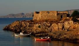 greece ökithira Arkivfoton