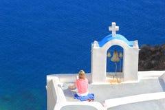 greece ösantorini fotografering för bildbyråer