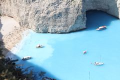 Greece Греция island of Zakynthos stock photography