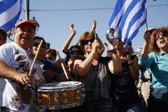 Greece, Athens, 18th October 2012 Royalty Free Stock Photos