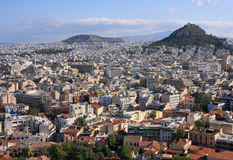 Greece Athens, from the Acropolis royalty free stock photos